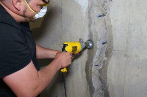 Basement Crack Repairs
